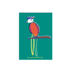 Post Card _ Parrot