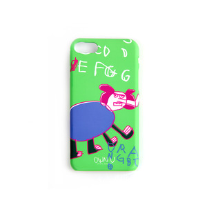 iPhone Case _ Green Elephant