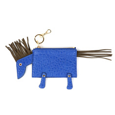 ANIMAL CARD PURSE - HORSES