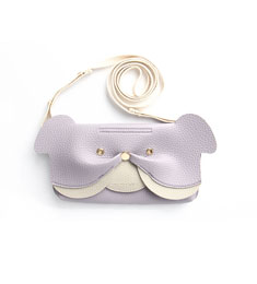 SALE Ji Won Bulldog Mini Bag Lilac