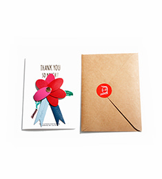 Thank You Carnation Broach_Large